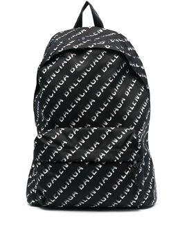 Balenciaga Wheel logo-print backpack 507460H856X