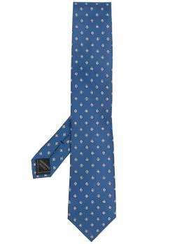 Brioni галстук с геометричным принтом O61D00P042J