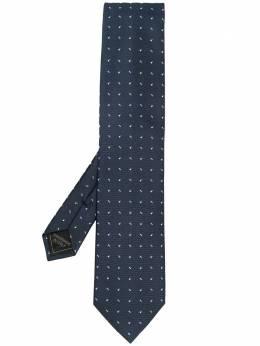 Brioni галстук с вышивкой O61D00P041A