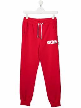 GCDS Kids спортивные брюки с логотипом 027601