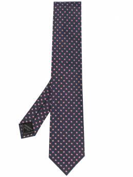 Brioni галстук с геометричным узором O61D00P0487