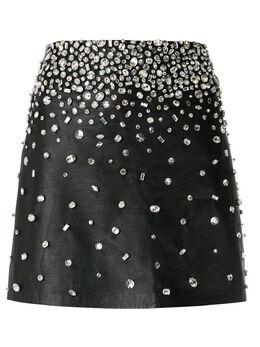 Andrea Bogosian декорированная юбка мини Sinah 008725