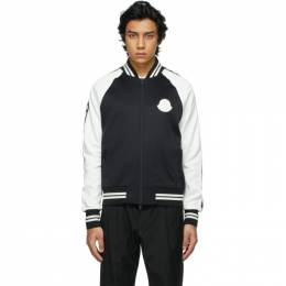 Moncler Black and White Maglia Cardigan 8G7B6 - 00 - 8299R