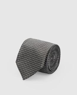 Серый галстук из шелка Tom Ford 2300004902507