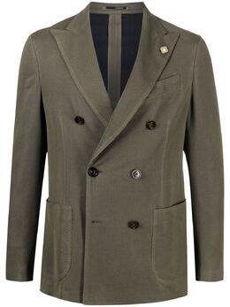 Lardini двубортный пиджак ELLKJ2EEL56041