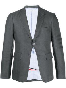 Thom Browne пиджак с полосками 4-Bar MJC001A07135