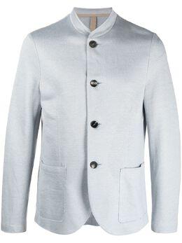 Harris Wharf London пиджак с воротником-стойкой C9427PED