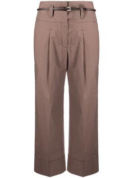Peserico укороченные брюки широкого кроя P04817A06775