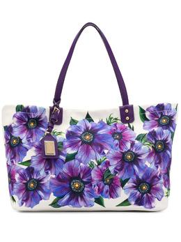 Dolce&Gabbana сумка-тоут с цветочным принтом BB6670AX740