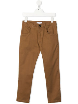 Paolo Pecora Kids брюки чинос прямого кроя PP2726