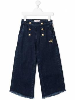 Alberta Ferretti Kids широкие брюки 027845