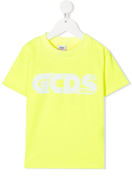 GCDS Kids logo-print short-sleeved T-shirt 027614FL