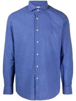Xacus рубашка с узором 72281503
