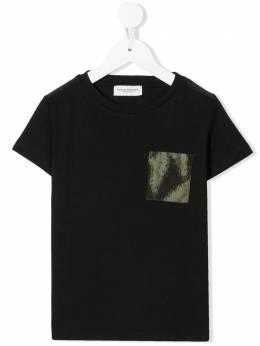 Paolo Pecora Kids футболка с накладным карманом PP2667