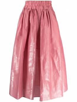 Aspesi пышная юбка из ткани ламе 2209G427