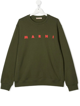 Marni Kids толстовка с логотипом M002TPM00J4