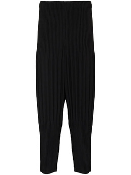 Homme Plisse Issey Miyake plissé-effect loose-fit trousers HP16JF151