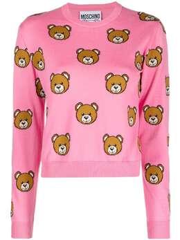Moschino Teddy Bear crew-neck jumper A09110502