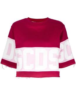 GCDS logo-print sweatshirt CC94W02060456