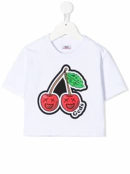 GCDS Kids cherry logo T-shirt 027683