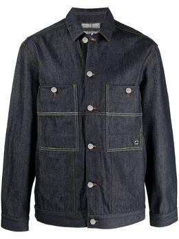 Etudes джинсовая куртка Guest E18M004