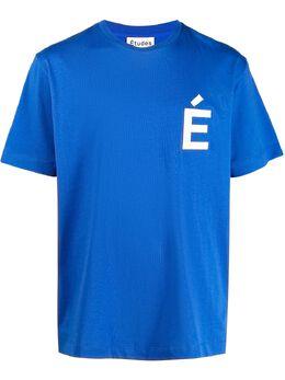 Etudes футболка Wonder Patch с короткими рукавами E18M421