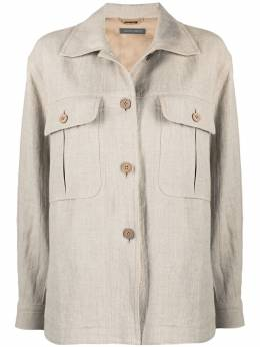 Alberta Ferretti легкая куртка с карманами A05060123