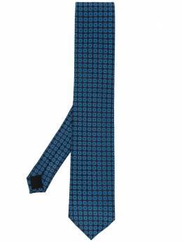 Boss by Hugo Boss галстук с геометричным принтом 50451932