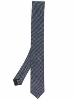 Hugo галстук в диагональную полоску 50451979