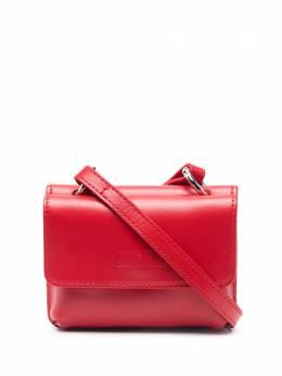 MSGM сумка-тоут размера мини с тисненым логотипом 3041MDZ13150