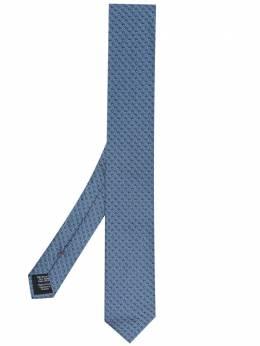 Hugo галстук с геометричным узором 50451988