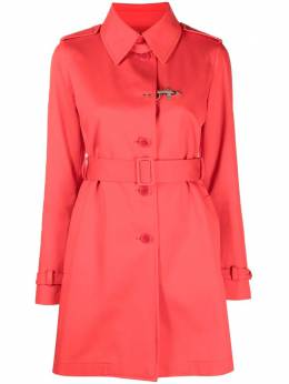 Fay belted trench coat NAW6142311S