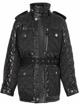 Burberry quilted belted jacket 8038296
