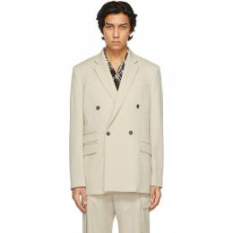 Stella McCartney Beige Shared Tailored Holden Blazer 601835SPA03