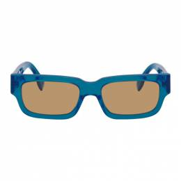 Retrosuperfuture Blue Roma Sunglasses 7CJ