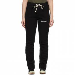 Palm Angels Black Slim Logo Lounge Pants PWCA045S21FLE0021001