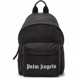 Palm Angels Black Small Backpack PMNB012S21FAB0011001