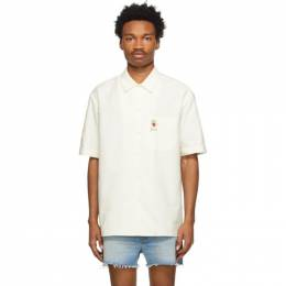 Gucci Off-White Oxford Bowling Shirt 649711 ZAGIS