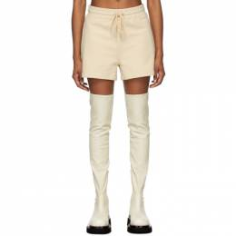 Dion Lee Beige Terry Boxer Shorts A2262S21