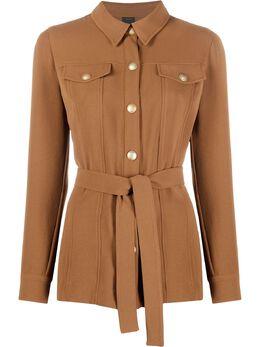 Pinko куртка-рубашка с поясом 1G15LV8386M30