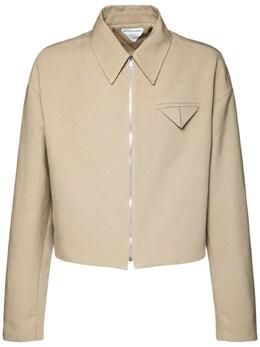 Куртка Из Канваса На Молнии Bottega Veneta 73IS3U023-OTczMw2