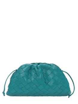 Кожаный Клатч The Mini Pouch Intreccio Bottega Veneta 73ID5T041-MzExOA2