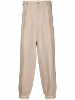 Giorgio Armani зауженные брюки средней посадки 0WGPP0D6T02HG