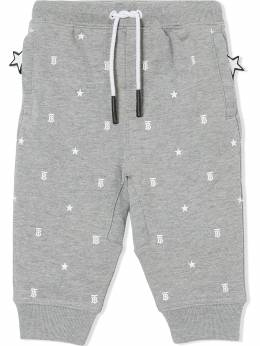 Burberry Kids star and monogram-print track pants 8038507