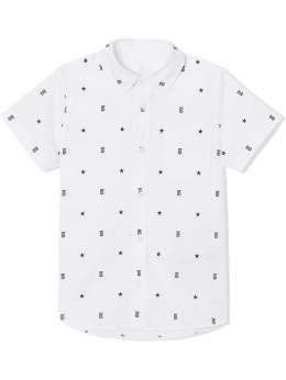 Burberry Kids star and monogram patterned shirt 8038353