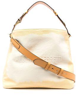 Alberta Ferretti сумка-тоут с тисненым логотипом A74018213