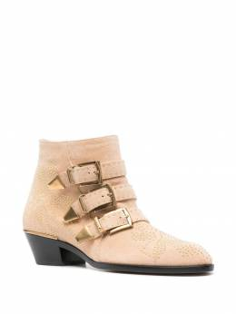 Chloe Susanna suede ankle boots CHC17A13418