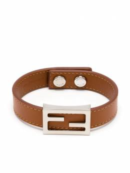 Fendi Baguette logo leather bracelet 7AJ319AAIW