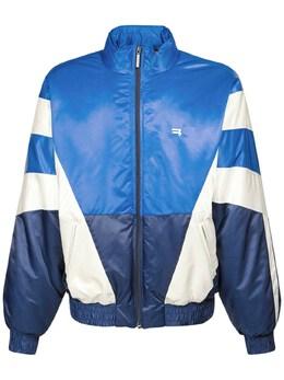 Logo Padded Nylon Tracksuit Jacket Balenciaga 73IROV010-NDIxMA2