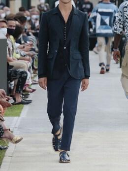 Льняная Рубашка С Узким Воротником Dolce&Gabbana 73I0B2010-QjAwMTE1